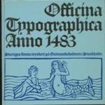 Officina typographica annao 1483